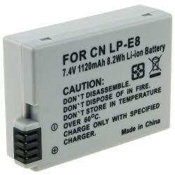 INSTEN Canon LP-E8 Compatible Li-ion Battery