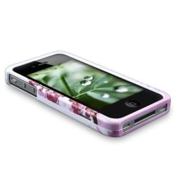 INSTEN Snap-on Phone Case Cover for Apple iPhone 4 - Thumbnail 1