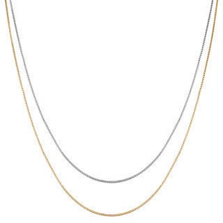 Fremada 10k Gold Venetian Box Chain