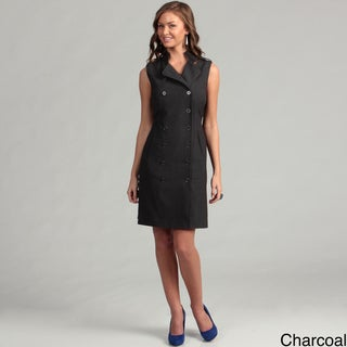 Calvin Klein Women's Career Lux Double Breasted Dress FINAL SALE