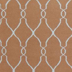 Hand-woven Brown Rhodes Wool Rug (9' x 13') - Thumbnail 2