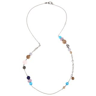 Fossil Jewelry Women's Stainless Steel Bead Necklace