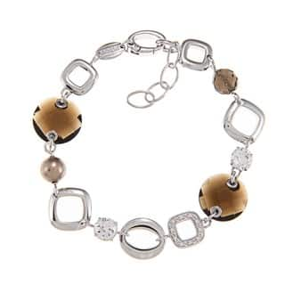 Fossil Jewelry Women's Sterling Silver Bracelet|https://ak1.ostkcdn.com/images/products/6562030/P14140247.jpg?impolicy=medium