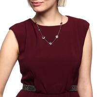 Fossil Jewelry Women's Stainless Steel Necklace - Silver