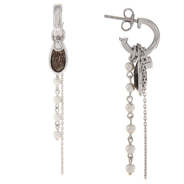 Fossil Jewelry Women's Sterling Silver Earrings