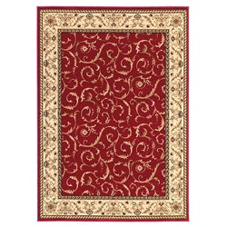 Admire Home Living Amalfi Scroll Area Rug (5'5 x 7'7)
