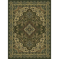 "Admire Home Living Traditional Caroline Sage Area Rug (7'9"" x 11')"