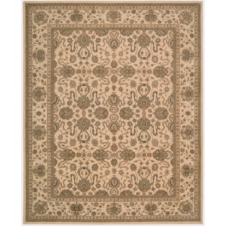Nourison Hand-tufted Heritage Hall Ivory Rug ( 2'6 x 4'2 )