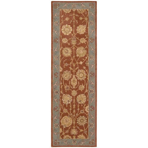 Nourison Heritage Hall HE24 Hand-tufted Wool Area Rug