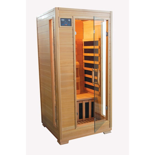 TheraPure 1-person Hemlock Carbon Heater Infrared Sauna
