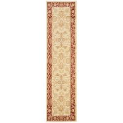 Safavieh Oushak Cream/ Red Powerloomed Rug (2'3 x 8')