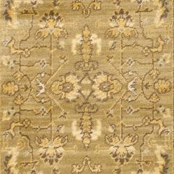 Safavieh Oushak Green/ Cream Powerloomed Rug (2'6 x 4') - Thumbnail 2