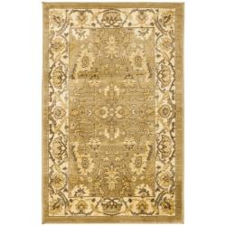 Safavieh Oushak Green/ Cream Powerloomed Rug (2'6 x 4')