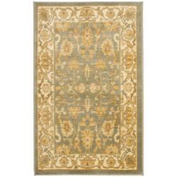 Safavieh Oushak Blue/ Cream Powerloomed Rug (2'6 x 4')