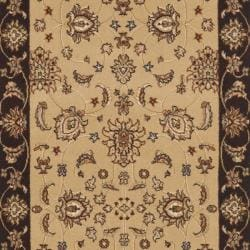 Safavieh Majesty Extra Fine Camel/ Brown Rug (2'3 x 8') - Thumbnail 2