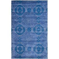 Safavieh Handmade Chatham Treasures Blue New Zealand Wool Rug (8' x 10') https://ak1.ostkcdn.com/images/products/6562509/79/103/Handmade-Chatham-Treasures-Blue-New-Zealand-Wool-Rug-8-x-10-P14140690.jpg?impolicy=medium