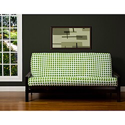 Block Island Green 6-inch Queen-size Futon Cover