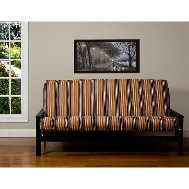 rockinu0027 stripe 6 inch queen size futon cover queen size futon covers   roselawnlutheran  rh   roselawnlutheran org