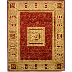 Red Transitional Floral Josephine Rug (5'3 x 7'3)