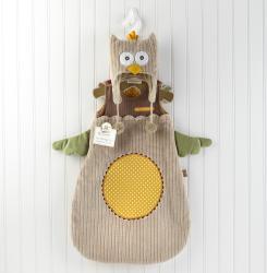Baby Aspen My Little Night Owl Snuggle Sack Cap Gift Set