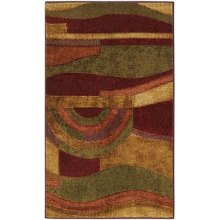Mohawk Home New Wave Picasso Wine (1'8 x 2'10)