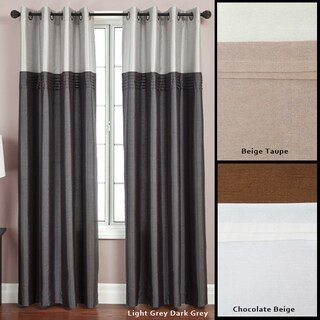 Softline Flight Lined Grommet Top 95-inch Curtain Panel