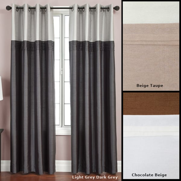 Softline Flight Lined Grommet Top 95 Inch Curtain Panel