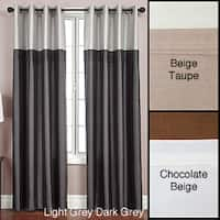 Softline Flight Lined Grommet Top 84-inch Curtain Panel - 54 x 84