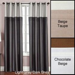 Softline Flight Lined Grommet Top 84-inch Curtain Panel - 54 x 84