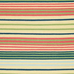 Country Living Hand-woven Green Baloo Wool Rug (8' x 11')