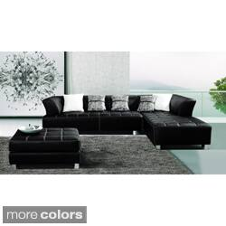 Black Sectional Sofas For Less Overstock Com