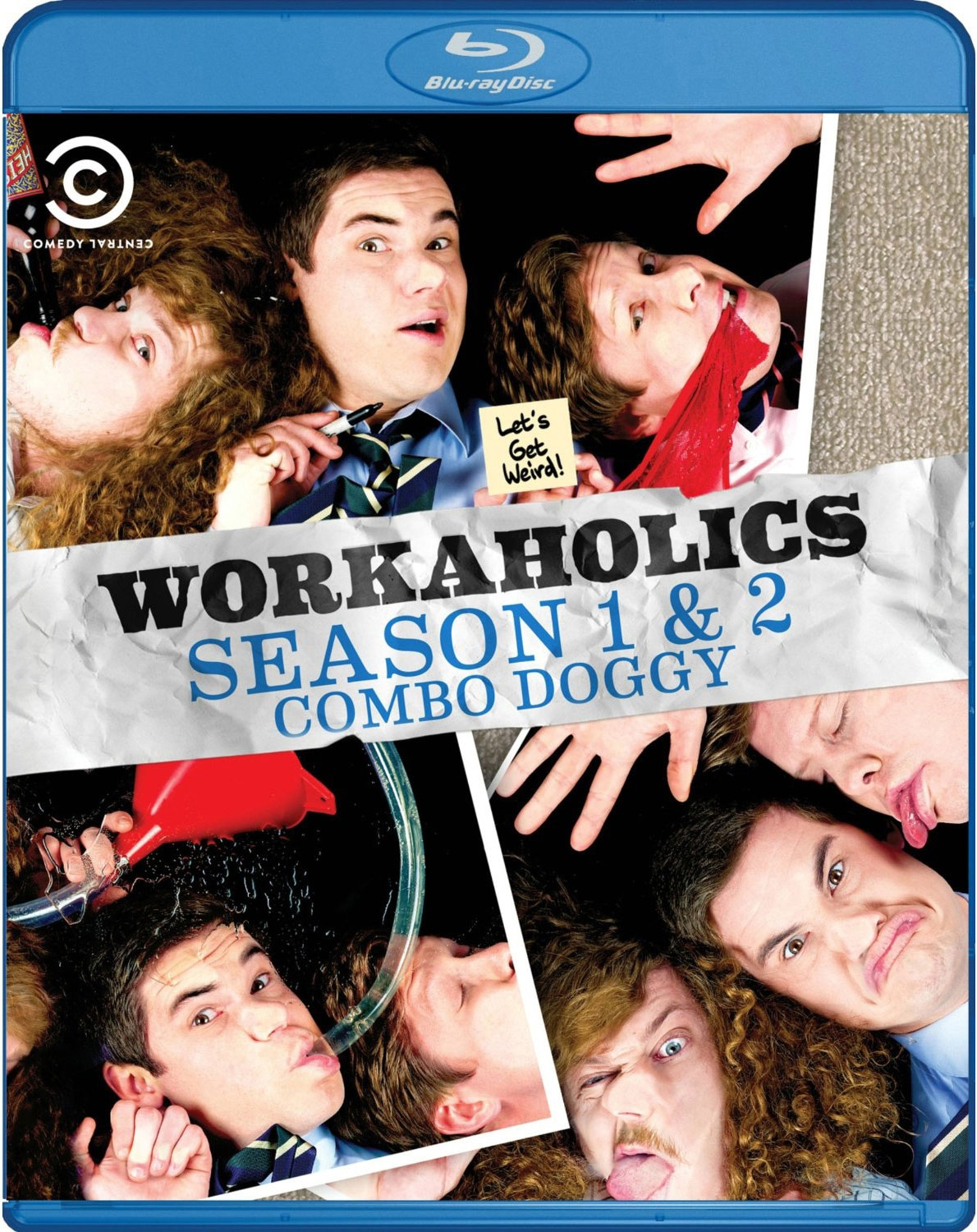 Workaholics: Seasons 1 & 2 (Blu-ray Disc)
