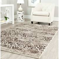 Safavieh Retro Modern Abstract Beige/ Light Grey Distressed Rug - 5' x 8'