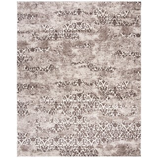 Safavieh Retro Modern Abstract Beige/ Light Grey Rug (8' x 10')