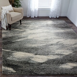 Safavieh Retro Mid-Century Modern Abstract Grey/ Ivory Rug (8' x 10')