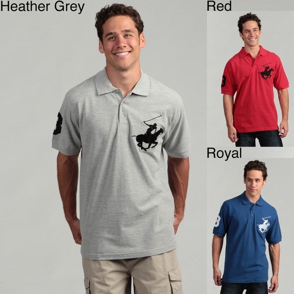 Beverly Hills Polo Club Men 39 S Polo Shirt Free Shipping