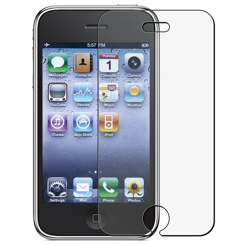 INSTEN Clear Anti-glare Screen Protector for Apple iPhone 3G/ 3GS