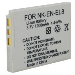 INSTEN Replacement Nikon EN-EL8 Battery - Thumbnail 1