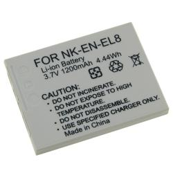 INSTEN Replacement Nikon EN-EL8 Battery