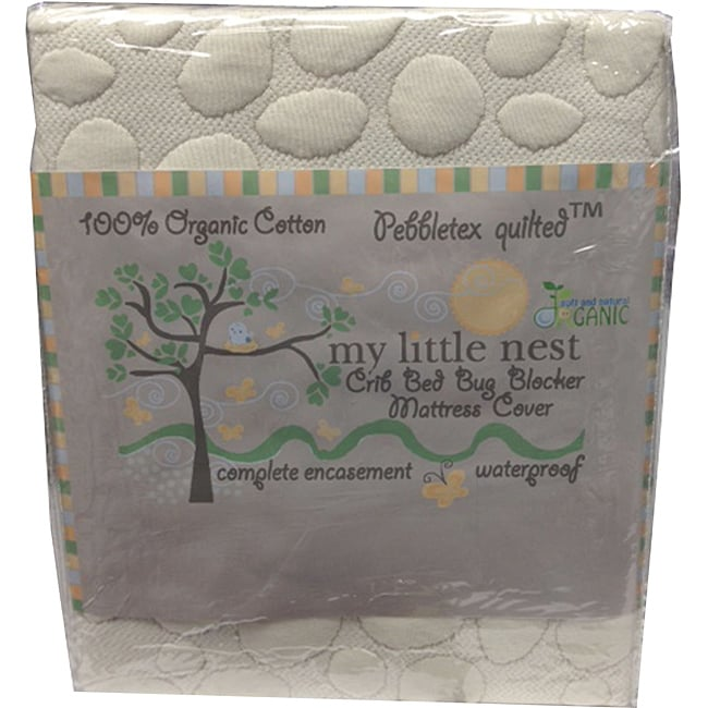 Christopher Knight Home My Little Nest Organic PebbleTex Crib Mattress Pad