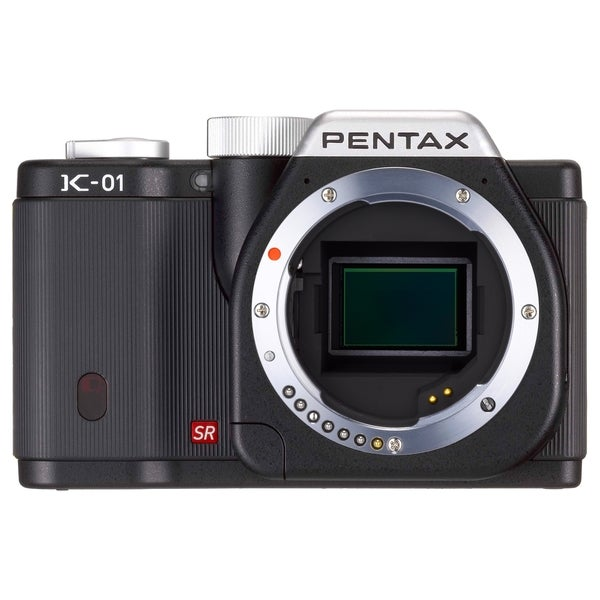 Pentax k-01 16.3 Megapixel Mirrorless Camera Body Only - Black