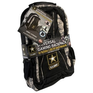 CTA Digital U.S. Army Carrying Case (Backpack) for Gaming Console, Ga