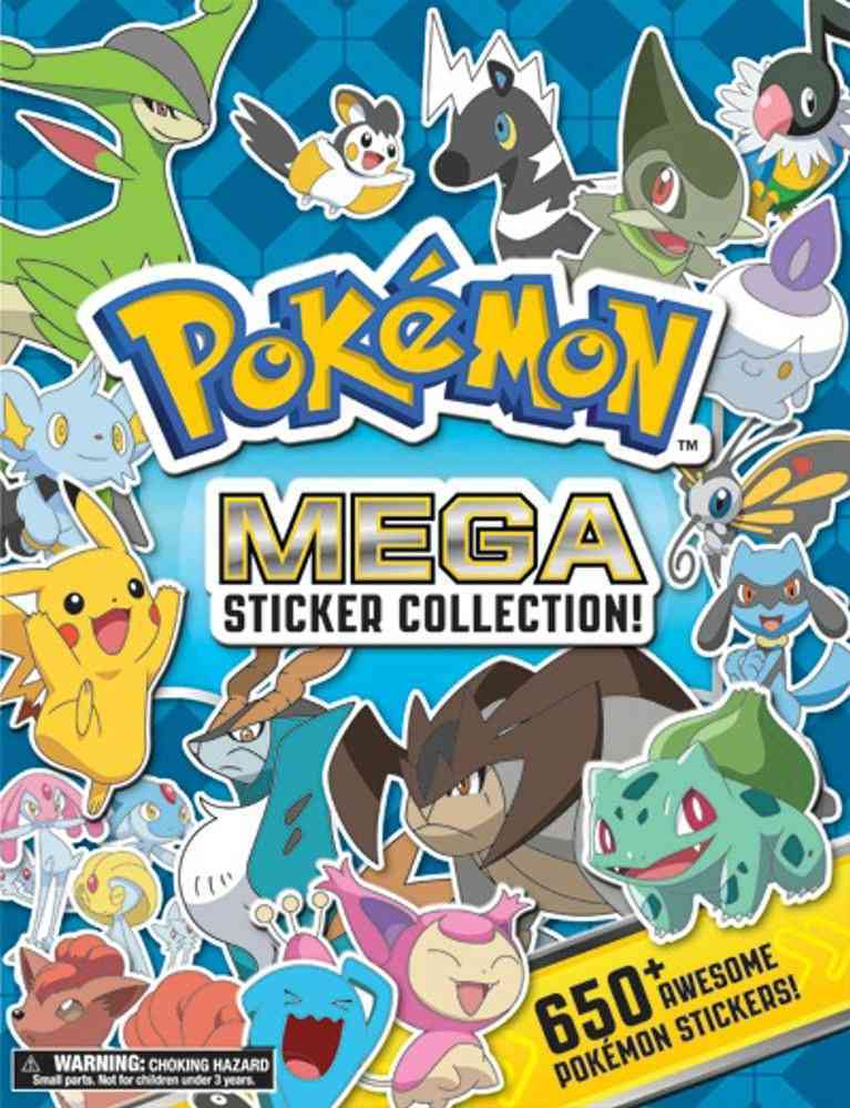 Pokemon Mega Sticker Collection!: Over 650 Awesome Pokemon Stickers! (Paperback)