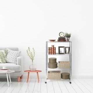 Seville Classics Home Style 4-tier Shelving Unit