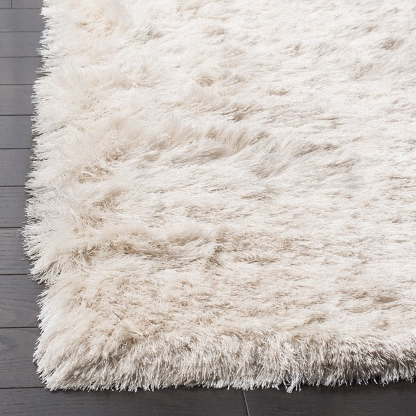 Wonderful Safavieh Handmade Silken Glam Paris Shag Ivory Rug (6u0027 X 9u0027)   Free  Shipping Today   Overstock.com   14145515