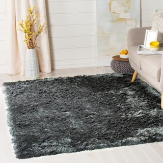Safavieh Handmade Silken Glam Paris Shag Ivory Area Rug (8' x 10')|https://ak1.ostkcdn.com/images/products/6568387/P14145517.jpg?impolicy=medium