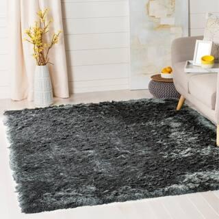 Safavieh Paris Shag Danara Glamour Solid Polyester Rug