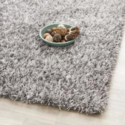 Safavieh Medley Textured Shag Grey Rug (7' Square)