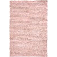 Safavieh Handmade Aspen Shag Pink Wool Area Rug - 6' x 9'