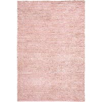 Safavieh Handmade Aspen Shag Pink Wool Area Rug - 8' x 10'